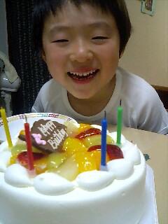 誕生日、ケーキ