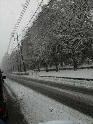 2012年雪景色