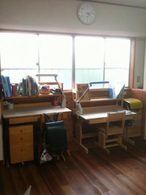 子供部屋模様替え完了