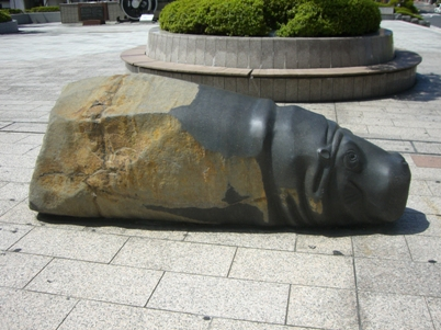 明地信之作「Hipopotamus(カバ)