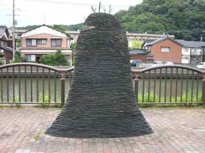 彫刻:百瀬啓一郎「塚」