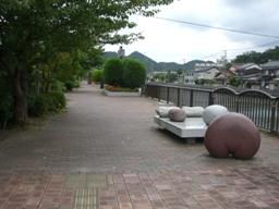 加茂川遊歩道