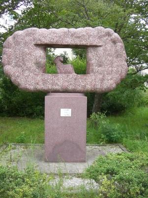 彫刻:西村文男「あかね雲」