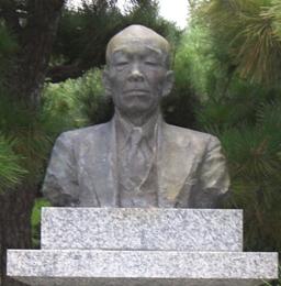 彫刻:辻 晋堂「下田光造銅像」アップ