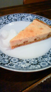 120415桜のチーズケーキ
