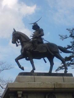伊達政宗公・騎馬像