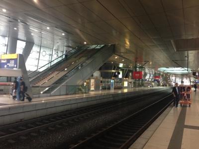 フランクフルト空港遠距離駅