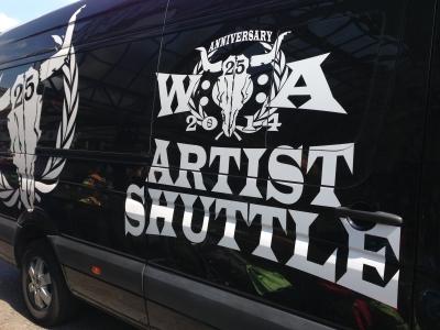 WOAアーティストシャトル