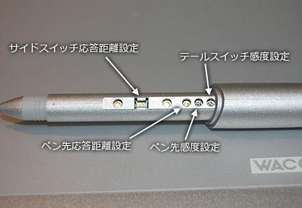 XP-501Eの調整方法
