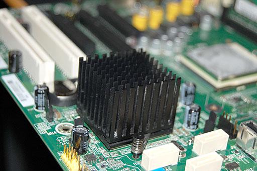ML115 チップクーラー換装後