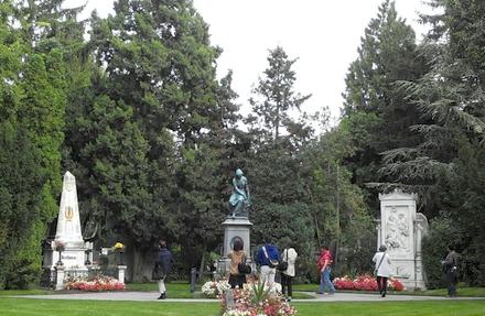 ウィーン中央墓地のベートーベン、シューベルトなど