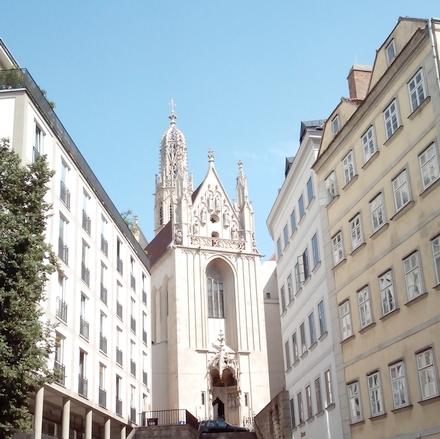 ウィーンで1番美しいゴシック尖塔