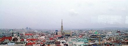 ウィーンの眺望レストラン