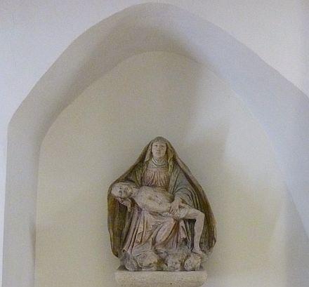 ウィーン皇帝霊廟のピエタ像