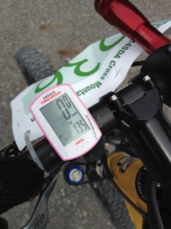 王滝 42km平均速度
