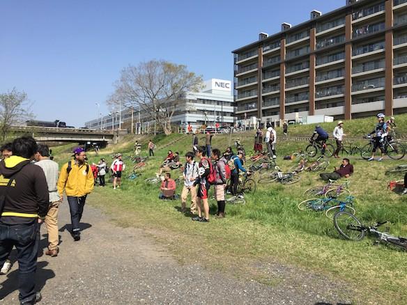 関戸橋フリーマーケット2015_春