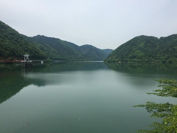 王滝村 御岳湖