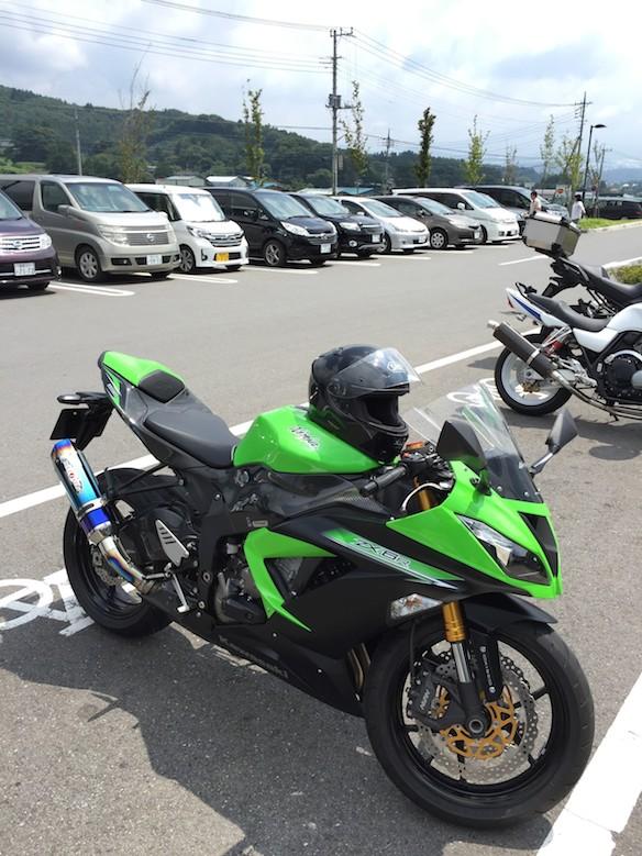 kawasaki zx-6r 2014 BEETマフラー