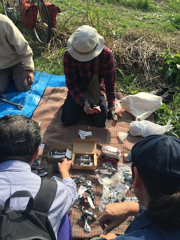 関戸橋フリーマーケット2015_秋