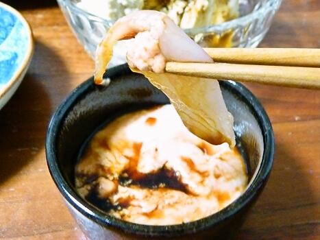 ウマヅラ 肝醤油