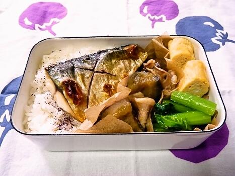 塩鯖 弁当