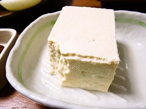 豆腐 湧水