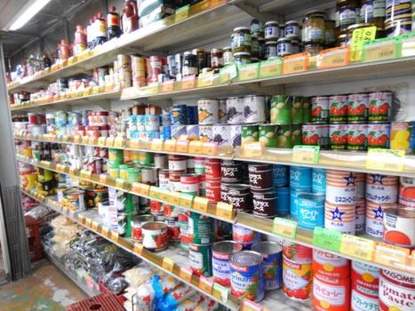 大宮市場 缶詰