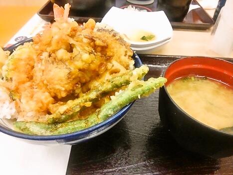 てんや えび野菜天丼