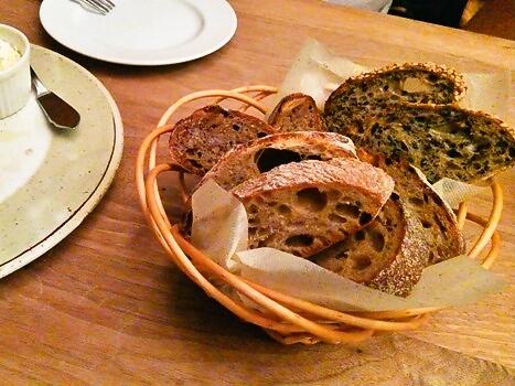 まちのパーラー パンの盛り合わせ
