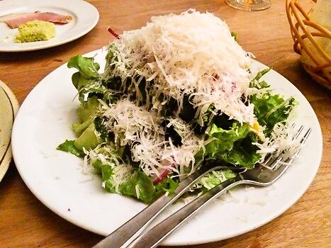 いろんな野菜とチーズのサラダ