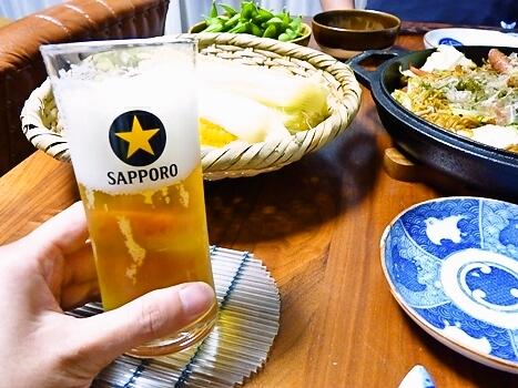 サッポロ ビールグラス