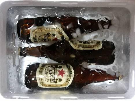 キンキンのビール