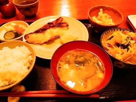 めぬけの西京焼き定食 美松
