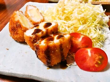 ササミチーズフライ