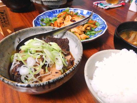 牛肉豆腐 献立
