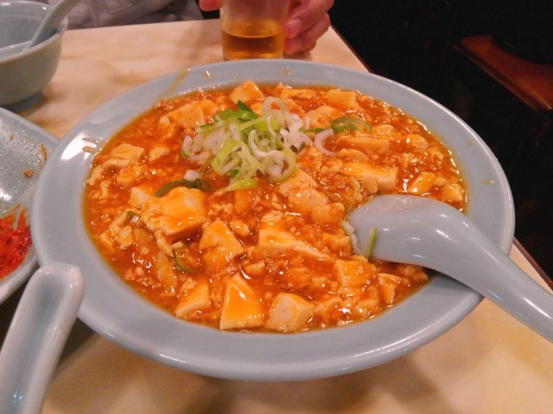龍朋 麻婆豆腐