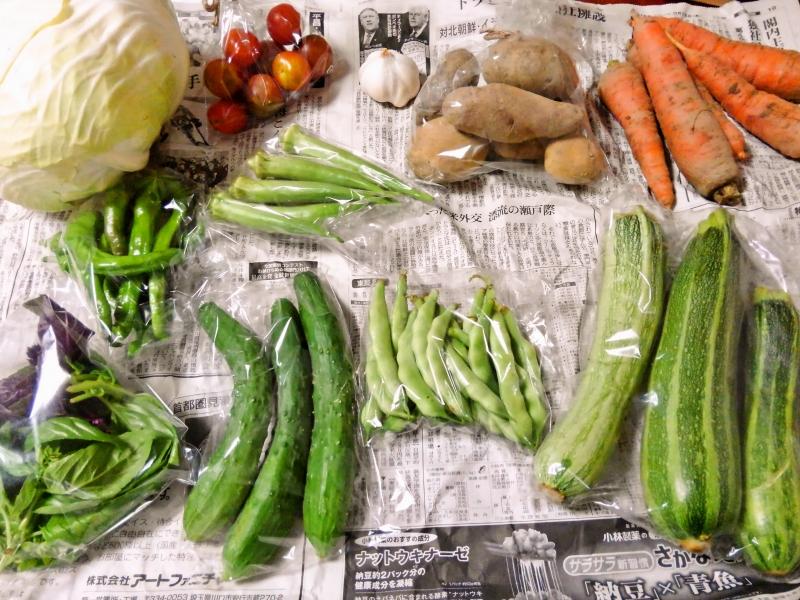 ぐるぐる農園の野菜