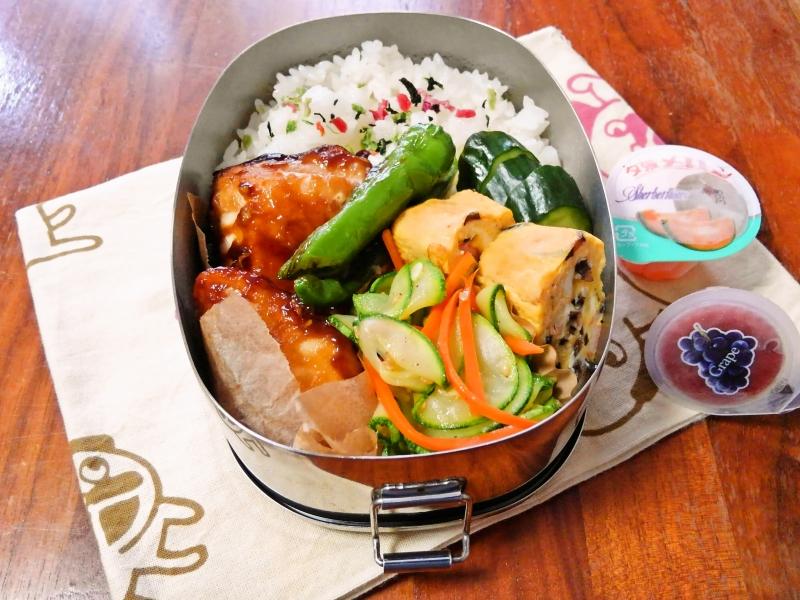 メカジキの中華風照り焼き弁当