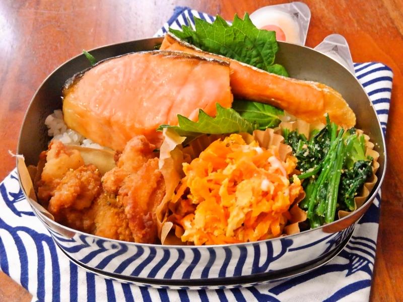 鮭カラ弁当