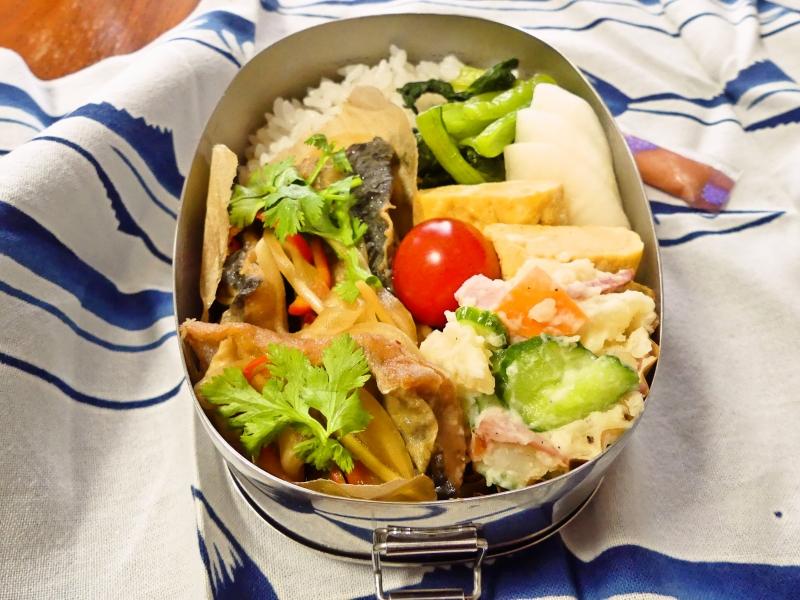 秋刀魚の南蛮漬弁当