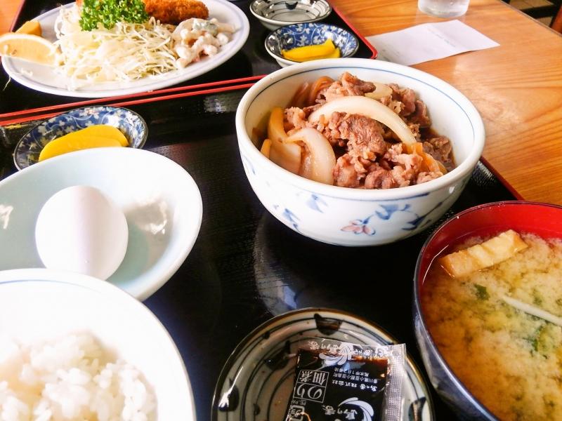 肉豆腐 定食