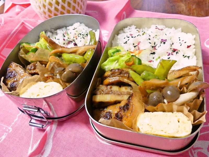 レンコンのはさみ焼き弁当