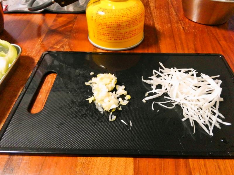 豆乳担々麺 練習レシピ その2