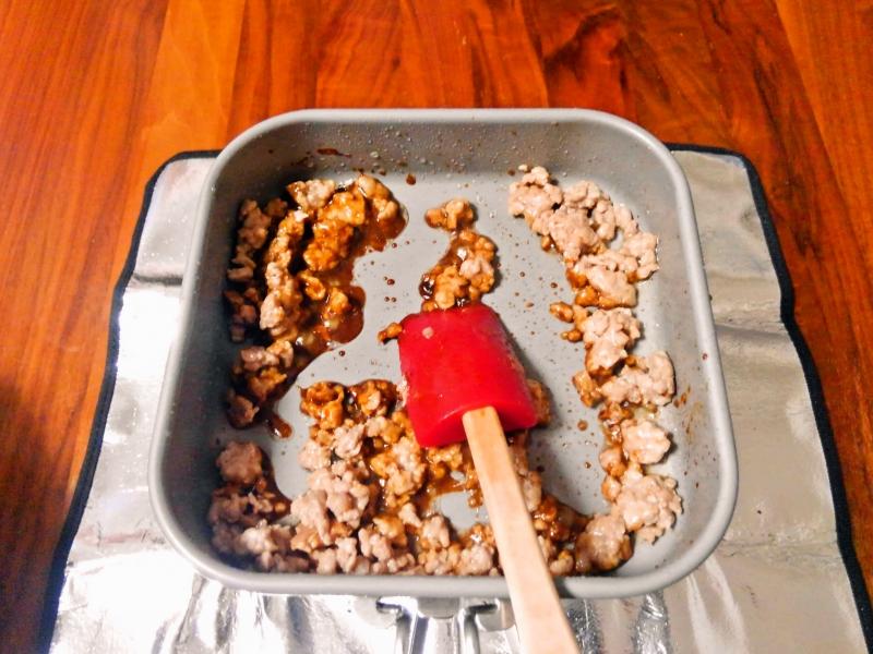 豆乳担々麺 練習レシピ その4