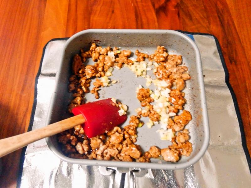豆乳担々麺 練習レシピ その5