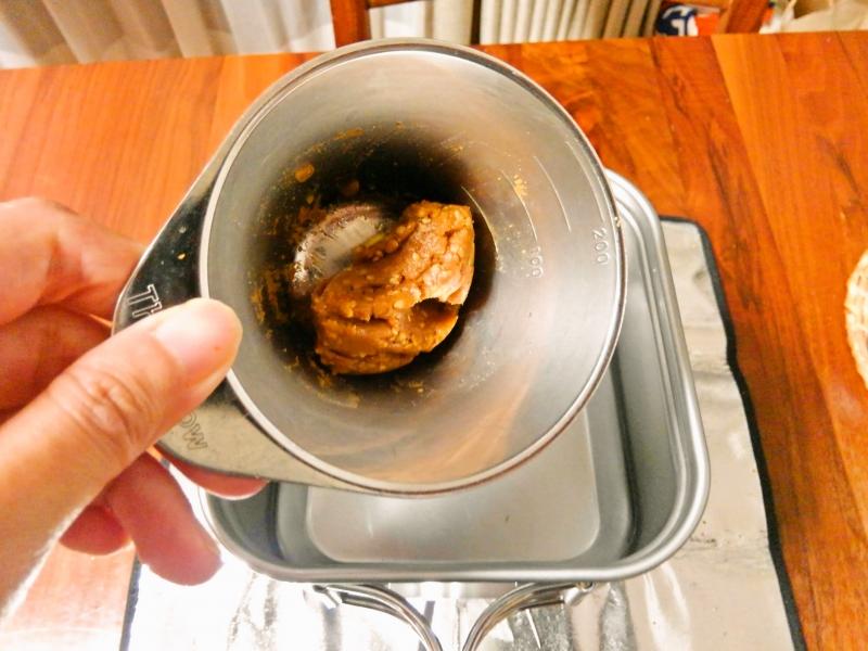 豆乳担々麺 練習レシピ その6