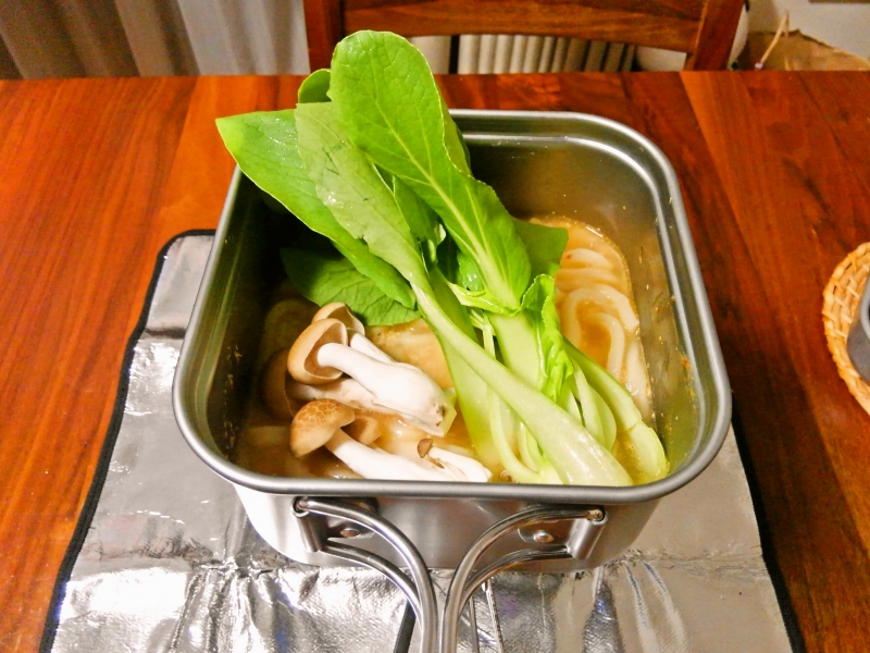 豆乳担々麺 練習レシピ その8