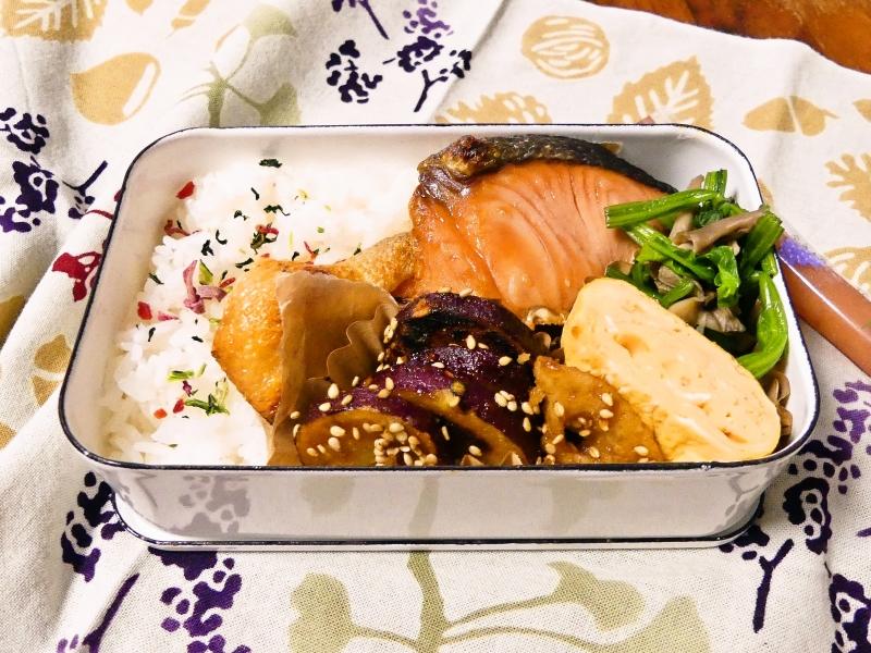 塩引鮭 弁当