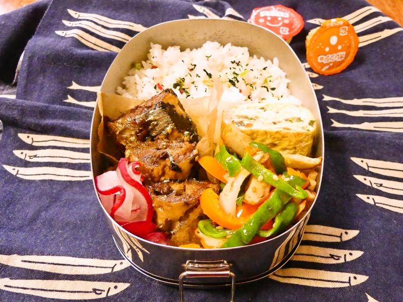 秋刀魚の山椒煮 弁当