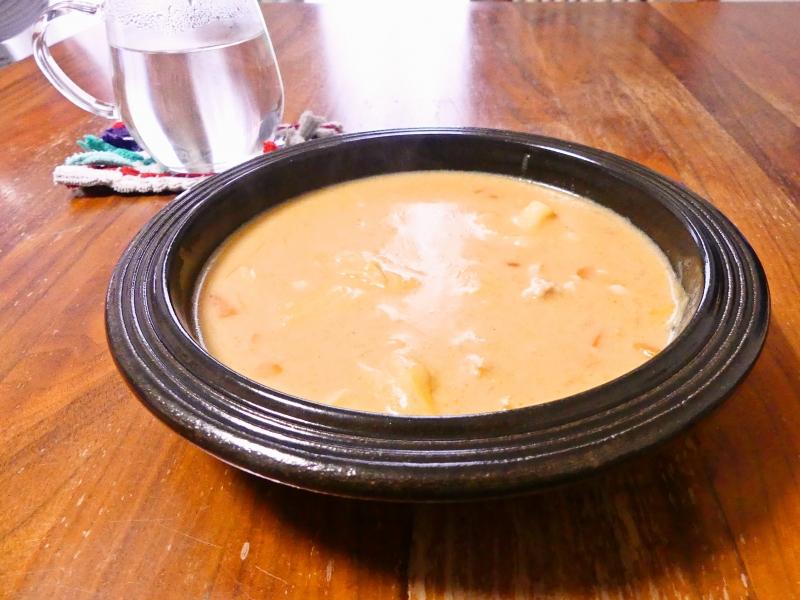 鶏肉のトマトクリームスープ